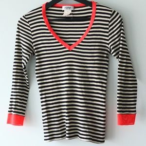 Sonia Rykiel Black and White sweater